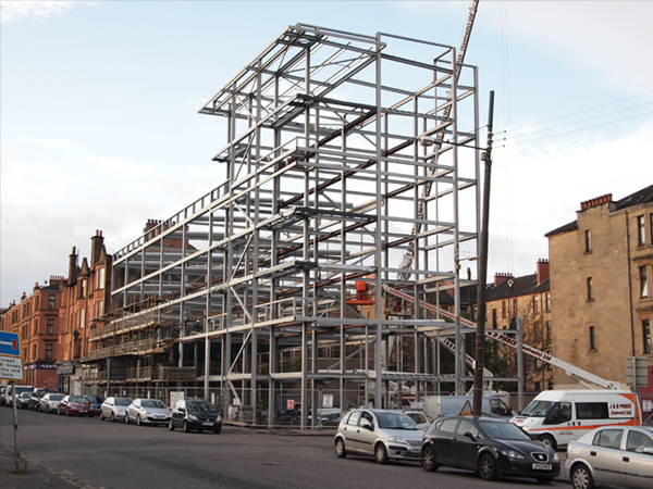 Cathcart Road - Steel Frame 2